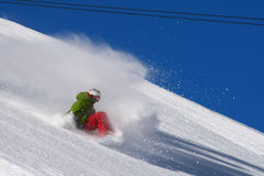 Freestyle snowboarder Stock Photography