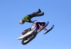 Freestyle Snowcross 2013, Novyy Urengoy Stock Image