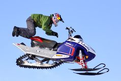 Freestyle Snowcross 2013, Novyy Urengoy Royalty Free Stock Images