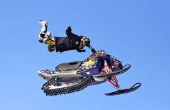 Freestyle Snowcross 2013, Novyy Urengoy Stock Photo