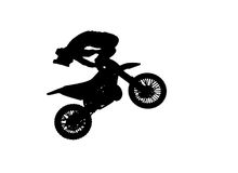 Freestyle on white background Royalty Free Stock Photo