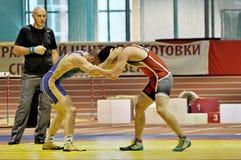 Freestyle wrestling Royalty Free Stock Image
