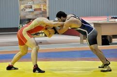Freestyle wrestling Stock Photo