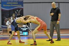 Freestyle wrestling Stock Photography