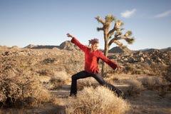 Freestyle Yogi Royalty Free Stock Images