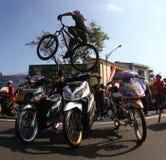 Freesyle da bicicleta Imagem de Stock Royalty Free