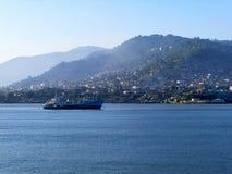 freetown hamnen av Sierra Leone arkivfoton
