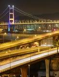 Freeway and bridge Stock Photos
