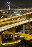 Freeway and bridge Stock Photography