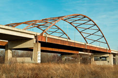 Freeway Bridge Royalty Free Stock Image