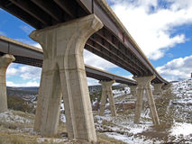 Freeway Bridge Stock Photos