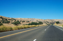 Freeway in California Stock Photography