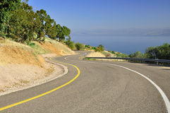 Freeway curves. Stock Photography