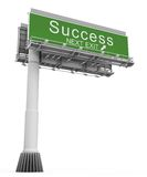 Freeway Exit Sign success Royalty Free Stock Image
