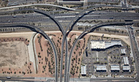Freeway Interchange Stock Photography