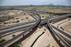 Freeway Interchange Stock Images