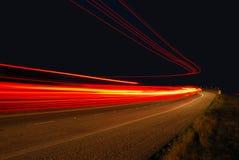 Freeway Lights Stock Photos