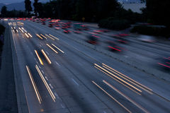 Freeway Long Exposure Royalty Free Stock Photo