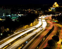 Freeway Motion Blur Royalty Free Stock Image