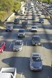 405 freeway near Sunset Blvd. at rush hour, Los Angeles, California Royalty Free Stock Image