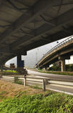 Freeway overpass Royalty Free Stock Images