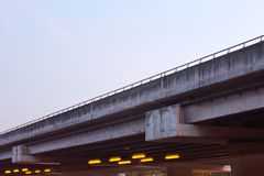Freeway overpass Royalty Free Stock Image