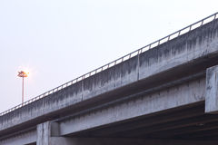 Freeway overpass Royalty Free Stock Photos