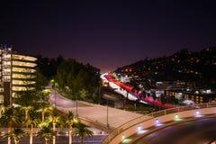 Freeway pass stock photography