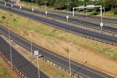Freeway Passing Through Mhlanga Ridge  in Durban South Africa Royalty Free Stock Photos