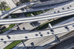 Freeway Ramps Aerial Stock Image