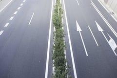 Freeway of road stock photo