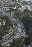 Freeway at rush hour Royalty Free Stock Photography
