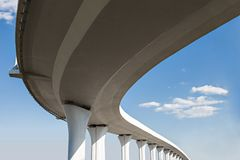 Freeway span Stock Photo