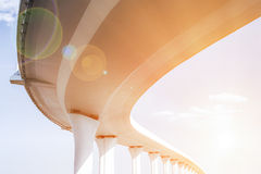 Freeway span Stock Photography