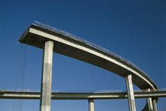 Freeway under construction Royalty Free Stock Images