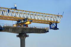 Freeway under construction Stock Image