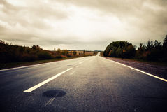 Freeway view Stock Images