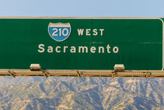 210 Freeway royalty free stock images