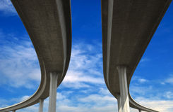 Freeways Royalty Free Stock Images