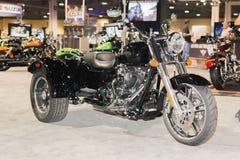 Freewheeler 2015 del triciclo de Harley-Davidson Foto de archivo