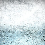 Freeze background,melt away Stock Photo
