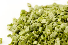 Freeze dried chives Stock Photos