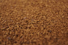 Freeze dried coffee Royalty Free Stock Images