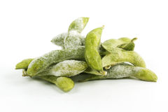 Freeze Green soybean Stock Images