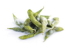 Freeze Green soybean Stock Photos