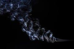 Freeze motion of smoke. stock photography