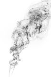 Freeze motion of smoke. Freeze motion of smoke isolated on white background. Abstract vape clouds stock photos