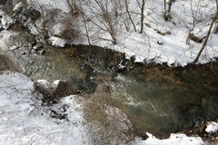 Freeze river Stock Photography