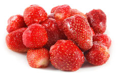 Freeze strawberry Royalty Free Stock Photo