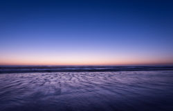 Freeze time of night ocean Royalty Free Stock Photography